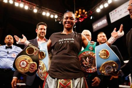 CLARESSA SHIELDS BECOMES TWO-DIVISION WORLD CHAMPION FRIDAY ON SHOWTIME